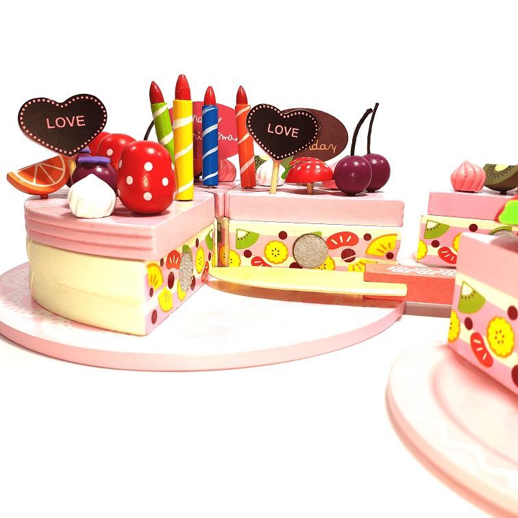 Đồ chơi gỗ - Bánh kem sinh nhật Vivitoys