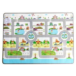Đồ chơi trẻ em thảm chơi 1 mặt thành phố nhỏ PAMAMA P0202