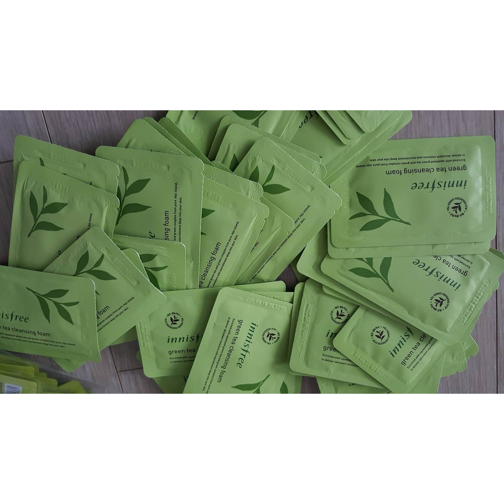 Sample sữa rửa mặt Innisfree Green Tea Cleansing foam _ 4ml - 2507397 , 229081861 , 322_229081861 , 8000 , Sample-sua-rua-mat-Innisfree-Green-Tea-Cleansing-foam-_-4ml-322_229081861 , shopee.vn , Sample sữa rửa mặt Innisfree Green Tea Cleansing foam _ 4ml