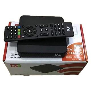 Khuyến mãi Đầu k+ TV Box kèm 4 tháng thuê bao