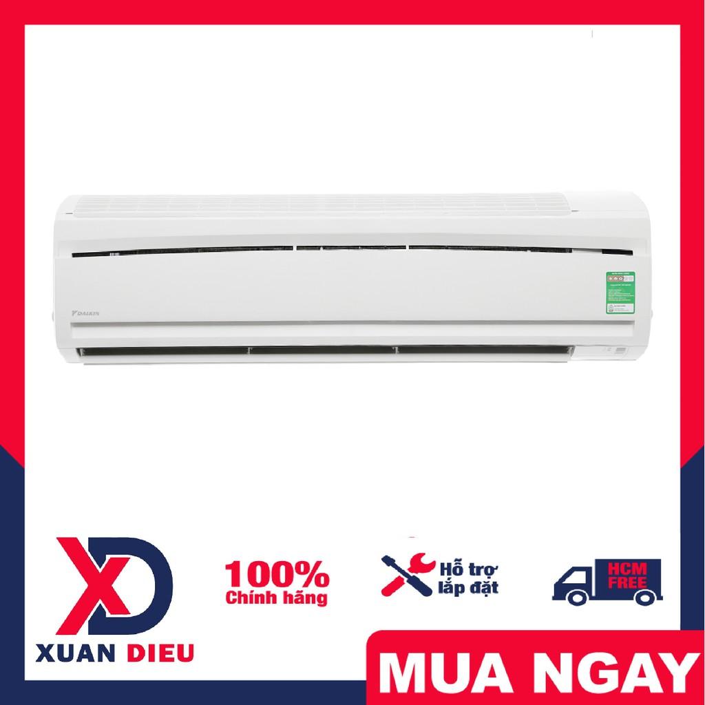 Máy lạnh Daikin 2.0 HP FTC50NV1V - Chức năng hút ẩm, Hẹn giờ bật tắt máy, Làm lạnh nhanh tức thì.Giao miễn phí HCM