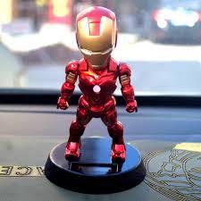 Mô Hình Nhân Vật Avenger Siêu Anh Hùng có cử động được đầu-Iron Man