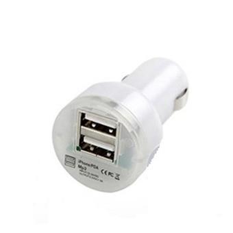 Sạc xe hơi 2 cổng USB - Cho Deal 24h (Trắng) - 2633272 , 184338113 , 322_184338113 , 24000 , Sac-xe-hoi-2-cong-USB-Cho-Deal-24h-Trang-322_184338113 , shopee.vn , Sạc xe hơi 2 cổng USB - Cho Deal 24h (Trắng)