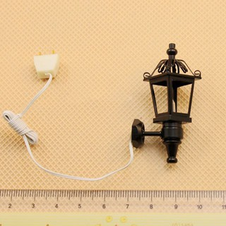 1/12 Dollhouse Miniature Furniture LED Wall Light Lamp Fairy Garden Accessory