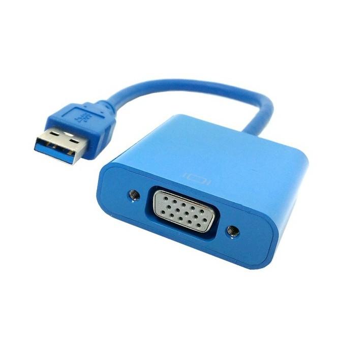 Cáp chuyển đổi tín hiệu USB sang VGA (Xanh) - 2909659 , 257513416 , 322_257513416 , 290000 , Cap-chuyen-doi-tin-hieu-USB-sang-VGA-Xanh-322_257513416 , shopee.vn , Cáp chuyển đổi tín hiệu USB sang VGA (Xanh)