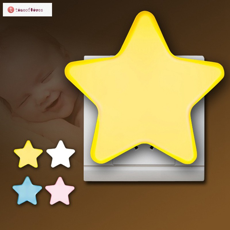 Đèn ngủ cảm biến hình ngôi sao dễ thương cho bé