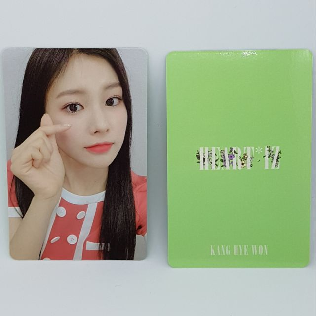 IZ*ONE IZONE 2ND ALBUM HEART*IZ PHOTOCARD KANG HYE WON - IZ