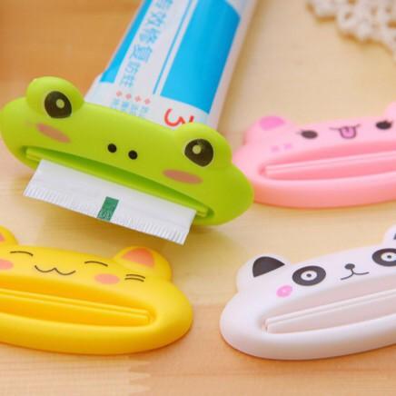 Dụng cụ nặn kem đánh răng kiểu dáng hoạt hình dễ thương