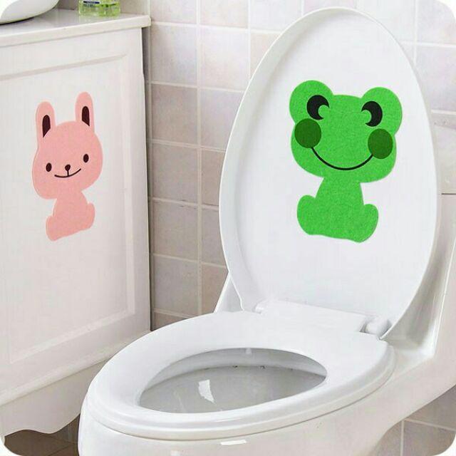 Miếng dán khử mùi toilet