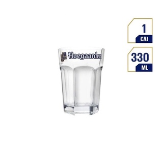 Ly bia Hoegaarden cổ lùn 1 lốc 6 ly