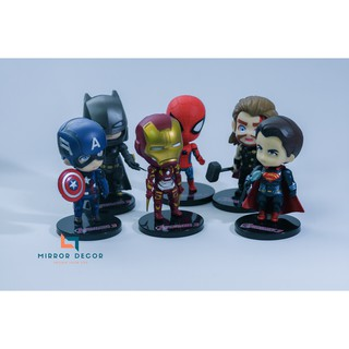 Combo 6 nhân vật Avenger