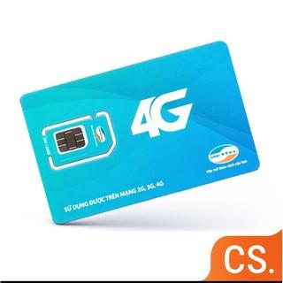 Sim 4G Viettel D500 Trọn Gói 1 Năm Không Nạp Tiền