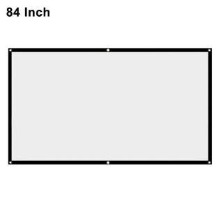 Màn Hình Máy Chiếu Màu Trắng 60 72 84 100 thumbnail