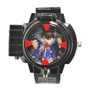 Đồng hồ trẻ em bé trai Conan đeo tay bắn laser Đồng hồ Conan - nhiều hình [AAM] [PGN33]