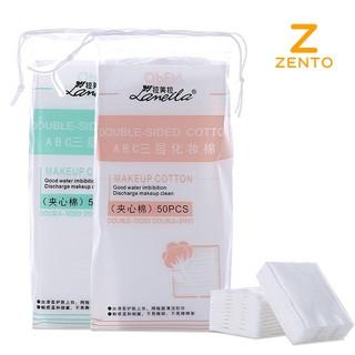 Bông tẩy trang hộp 100 miếng 100% cotton BTT-M01 thumbnail