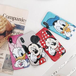 case Casing iphone 7 plus 8 plus 7 8 Cute Disney Case iphone x Cartoon Case Cute ready stock