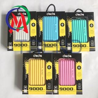 [Tiện ích] – Pin dự phòng dada 9.000mah kiểu Vali thời trang có sẵn TREND