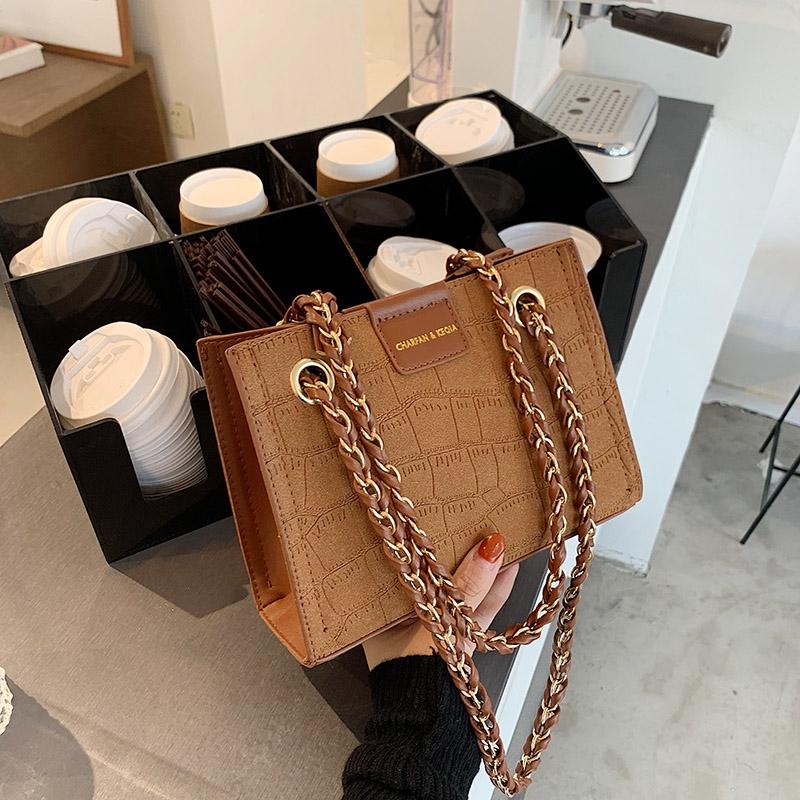 [Mã SKAMPUSH7 giảm 10% tối đa 100K đơn 150K] Túi xách nữ form cứng vân nhỏ - T1269