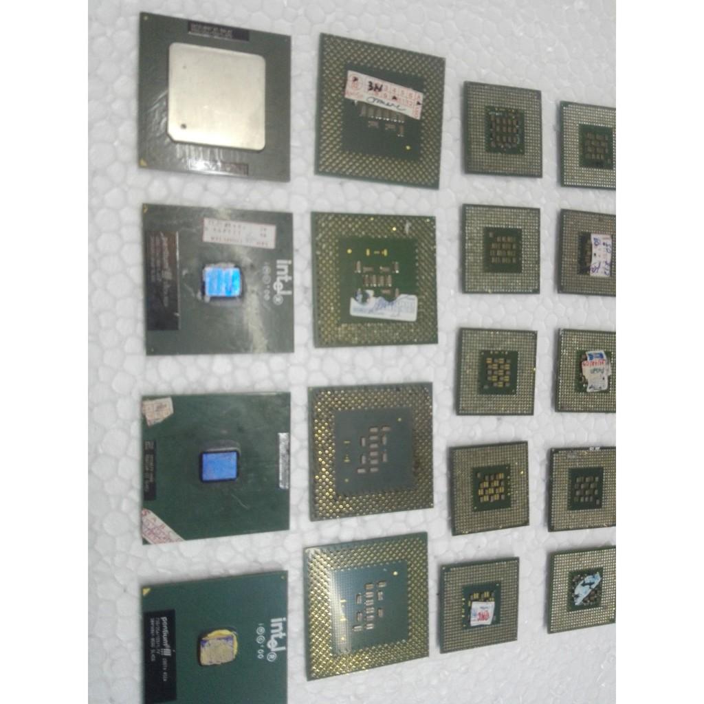 Chip CPU Intel Có chân Socket 478 Hỏng dùng Phân Kim