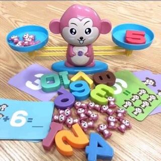 Bộ khỉ học toán cân bằng