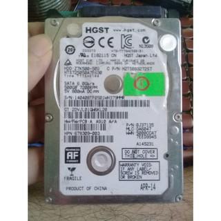 HDD 2.5 HGST 500GB SATA 3 7200RPM thumbnail