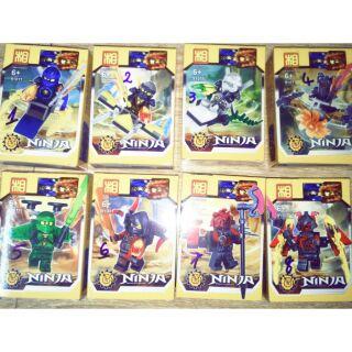 Lắp ráp 8 hộp Nonlego Ninja Master 91011 trọn bộ