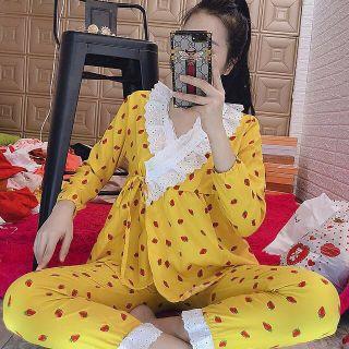 [Mã WAMST112 giảm 25k đơn 150k] 🎀Bộ pijama cột dây kate lụa🎀