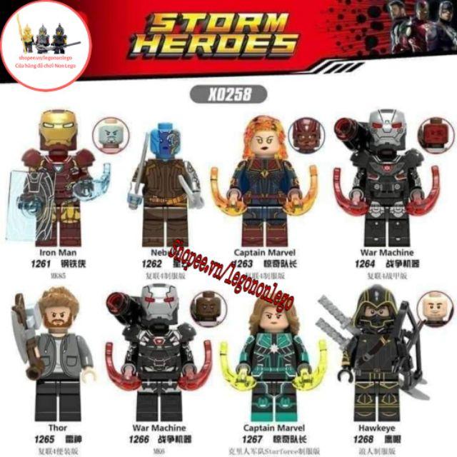 Minifigure Marvel các nhân vật Iron man ronin   X0258