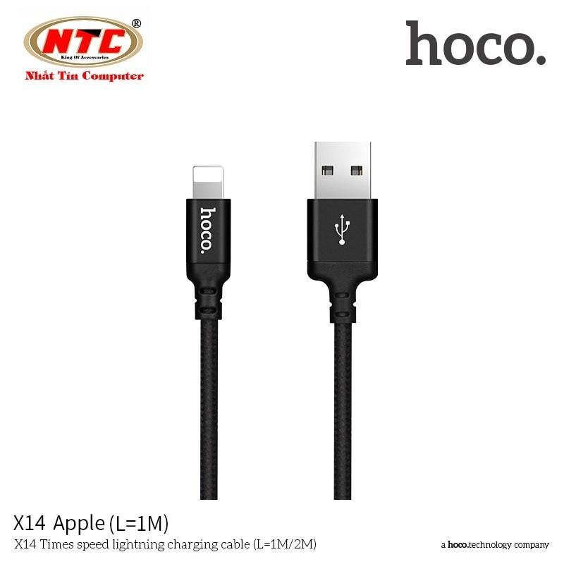 Cáp sạc dây dù Hoco X14 dài 1M - cổng Lightning - Hãng phân phối chính thức - 2551721 , 701481881 , 322_701481881 , 51000 , Cap-sac-day-du-Hoco-X14-dai-1M-cong-Lightning-Hang-phan-phoi-chinh-thuc-322_701481881 , shopee.vn , Cáp sạc dây dù Hoco X14 dài 1M - cổng Lightning - Hãng phân phối chính thức