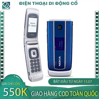 CÓ CLIP Điện thoại cổ Nokia 3555 Nắp Gập Zin Nguyên Bản Tặng Kèm Pin Và Sạc-BH 12 tháng 1 đổi 1 trong tháng. thumbnail
