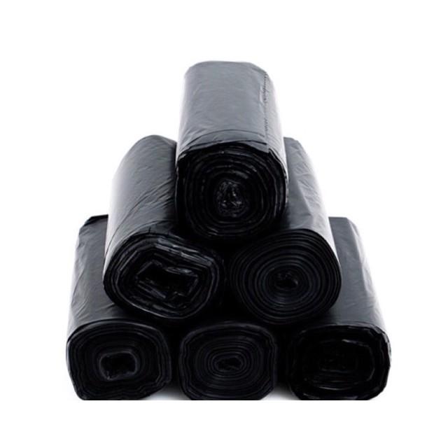 [KM] cuộn Túi đựng rác đen tự phân huỷ sinh học nhiều size (GC)