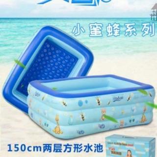 1/ chiec bể bơi 1m5 3 tầng