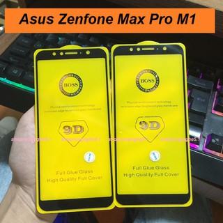 [Mã ELMSM3 giảm 20K đơn bất kì] Kính cường lực Asus Zenfone Max Pro M1 ZB601KL full keo 9D