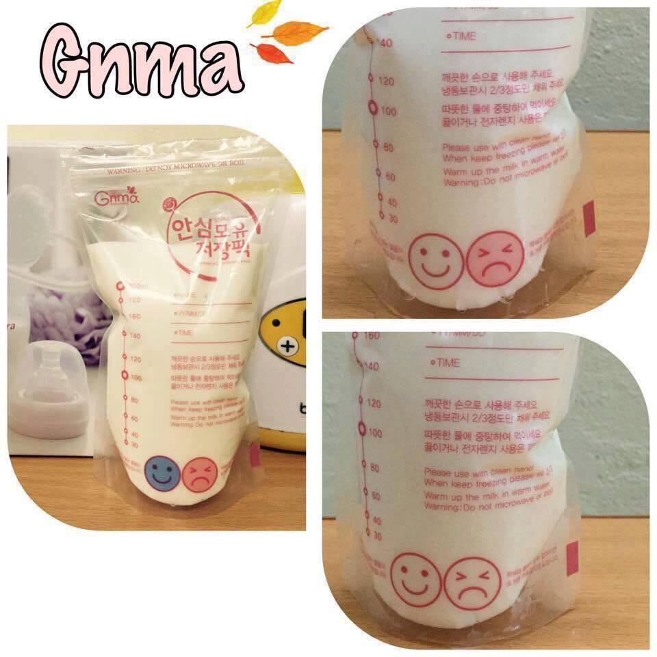 20 Túi Trữ Sữa GNMA Hàn Quốc Cho Bé