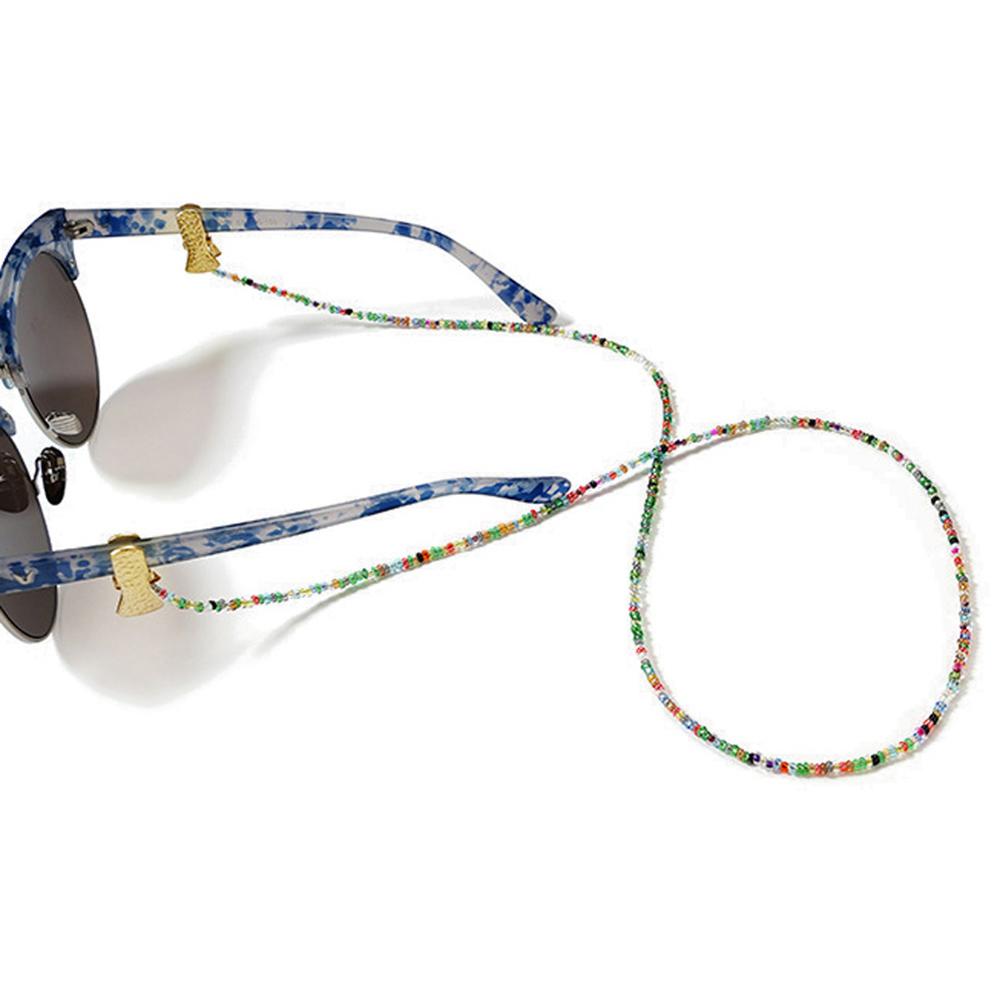 MXFASHIONESTORE Face Mask Lanyards Face Mask Necklace Sunglasses Cords Acrylic Beaded Chain Reading Glasses Chain Glasses Clips Eyeglass Lanyard Eyewear...
