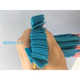 5 bộ dây ná cao su dẹt 0.8 – 0.9 mm có buộc da ( xanh lục ) [siêu rẻ 08]