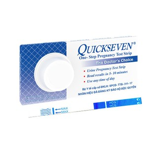 Que thử thai Quickseven