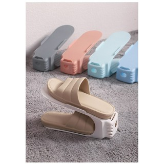 Giá để giày dép hình mỏ vịt thu gọn tiết kiệm diện tích chất liệu cao cấp an toàn