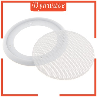 [DYNWAVE] 4Inch Speaker Grills Cover Case with 4 pcs Screws for Speaker Mounting Home