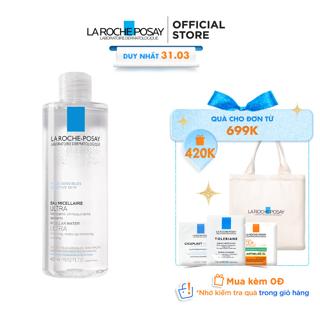 """Nước làm sạch sâu và tẩy trang cho da nhạy cảm Micellar Water Ultra Sensitive Skin La Roche-Posay 400ml giá chỉ còn <strong class=""""price"""">34.900.000.000đ</strong>"""