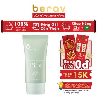 Kem Chống Nắng 9 Wishes Kiềm Dầu, Đều Màu Da Pine Treatment Sunscreen SPF50+ PA++++ 50ml thumbnail