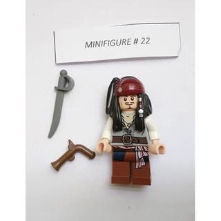 Nhân vật Lego Minifigures #22 Jack Sparrow