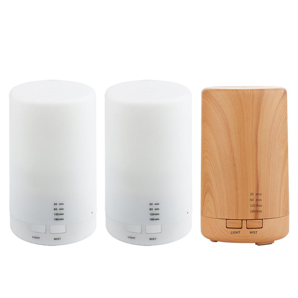 125ml USB Aroma Essential Oil Diffuser Ultrasonic Mist Humidifier Air Purifier