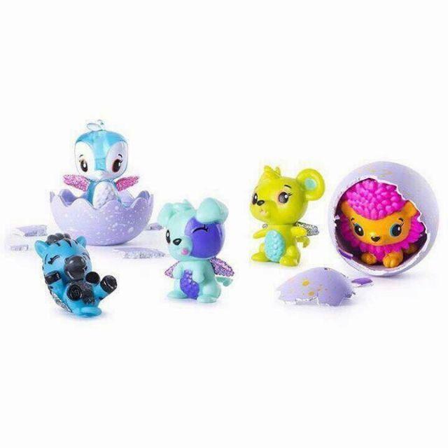 [Flash sale] Hộp 5 quả trứng đồ chơi Hatchimals [hot]