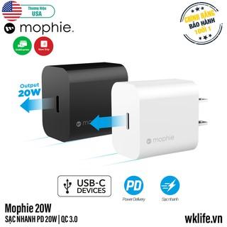 Củ Sạc Nhanh iPhone 12 Mophie 20W Bảo Hành 1 Đổi 1