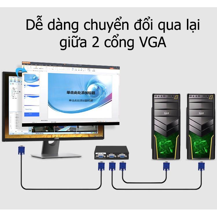 Bộ gộp VGA vào 2 ra 1 - Q210 V201