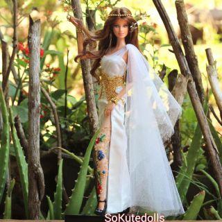 Đầm búp bê Barbie khách đặt may