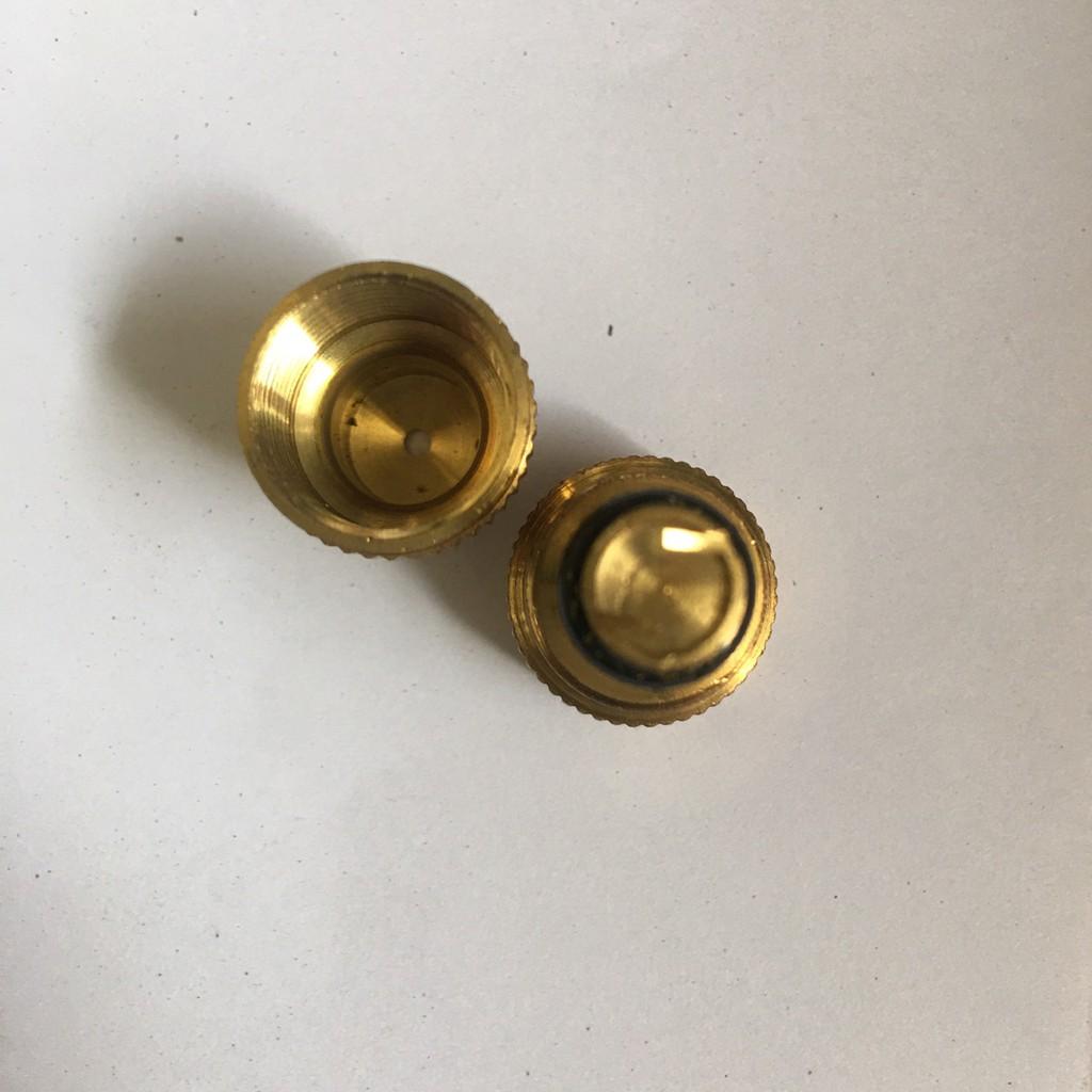 Béc phun bình Dudaco 2L, 4L, 8L bằng đồng( béc thẳng, đầu phun sương, vòi phun)