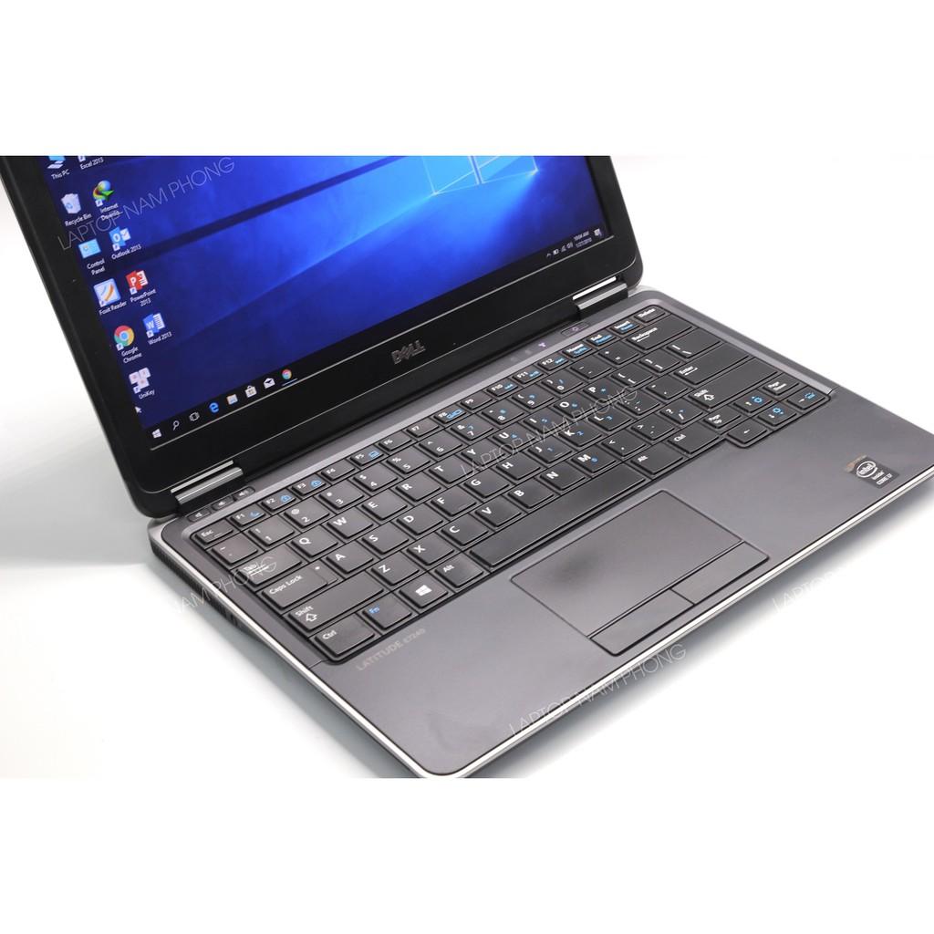 Laptop Nhập Khẩu Dell Latitude E7240 Core i5-4300U ram 4gb ổ cứng ssd 128gb Máy mỏng nhẹ gọn Giá chỉ 5.390.000₫