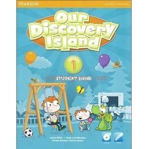 Bộ sách học tiếng Anh Our Discovery Island 1 (Trọn bộ 2 cuốn) (Kèm CD luyện nghe)